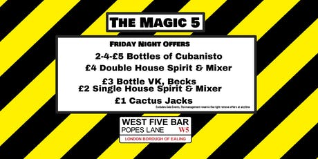 The Magic 5 with Mary Mac tickets