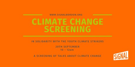 Climate Change Screening tickets