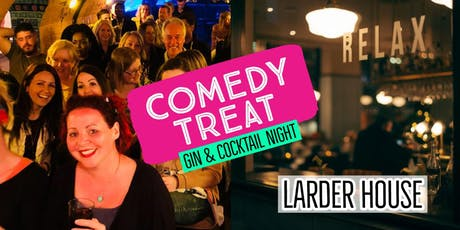 Comedy Treat - Gin & Cocktail Special (Bournemouth) tickets