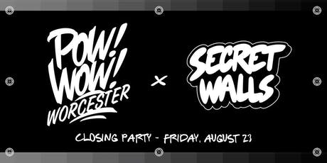 CLASSIFIED Closing Party X Secret Walls  tickets