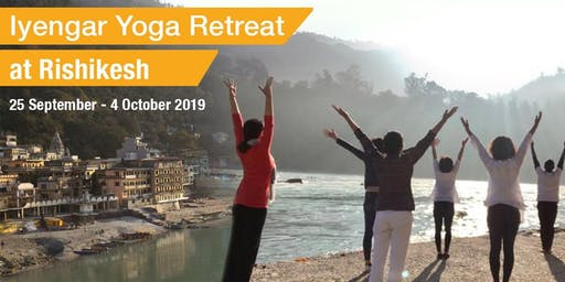 10-Day Iyengar Yoga Retreat in Rishikesh, India