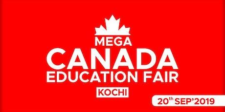 Mega Canada Education Fair 2019 - Kochi tickets