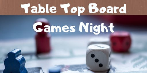 Tabletop Board Games Night