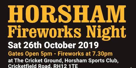 HORSHAM FIREWORKS NIGHT tickets