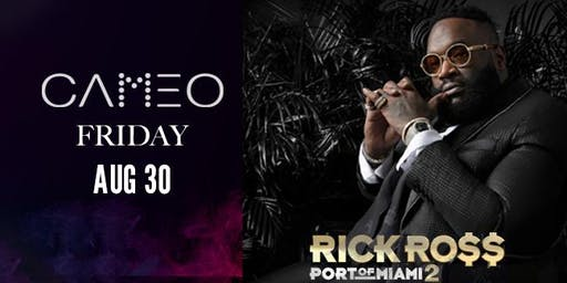 Rick Ross Performing @ CAMEO Nightclub South Miami Beach - Friday Aug 30