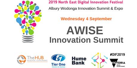 AWISE - Albury Wodonga Innovation Summit & EXPO tickets