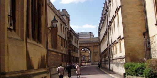 Sweet City Oxford Walking Tour: Literary Genius