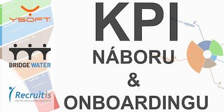 KPI v náboru a onboardingu tickets