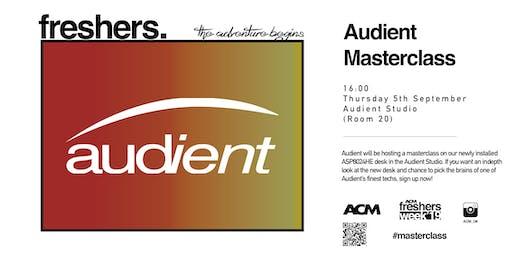 MASTERCLASS: Audient Workshop