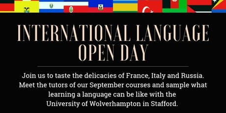 International Language Open Day Italian tickets