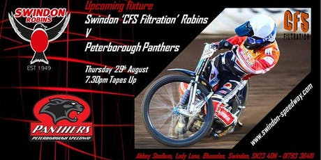 Swindon Robins V Peterborough Panthers tickets