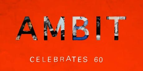 AMBIT 1959-2019 Exhibition & Launch tickets