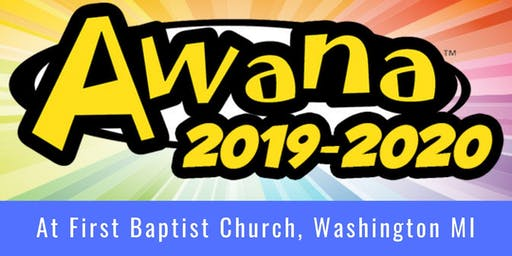 Awana Clubs 2019/2020