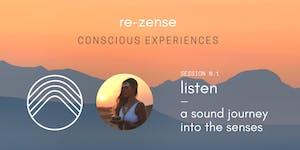 ✨ Sound Journey Into The Senses ✨