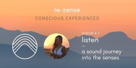 ✨ Sound Journey Into The Senses ✨ billets