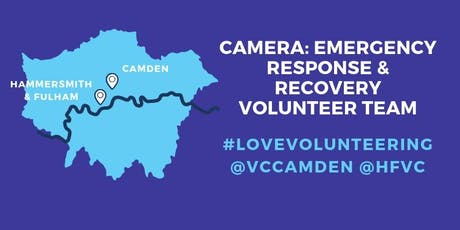 CAMERA Emergency Volunteering Team Training Session tickets