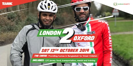 London 2 Oxford - Unity Ride tickets