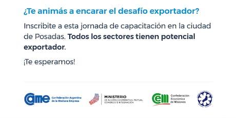 El Desafío Exportador  entradas
