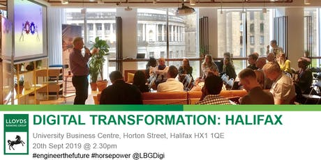 Digital Transformation: Halifax tickets