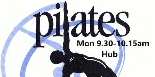Pilates Mon 9.30am