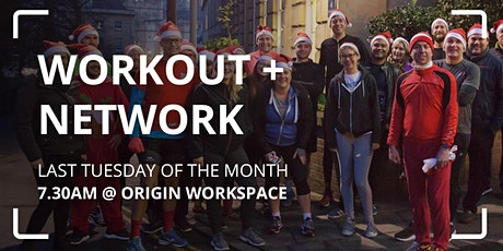 Workout + Network: Santa Run, Walk or Jog tickets