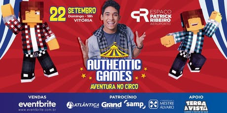 AUTHENTIC GAMES ingressos