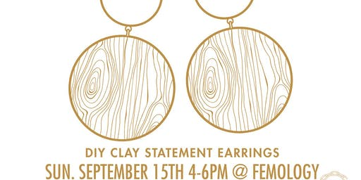 Designer Hack : DIY Clay Statement Earrings