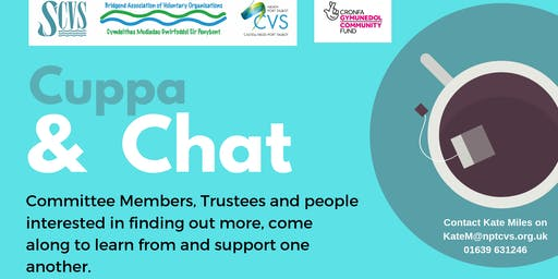 Cuppa & Chat: Trustee & Committee Member Networking