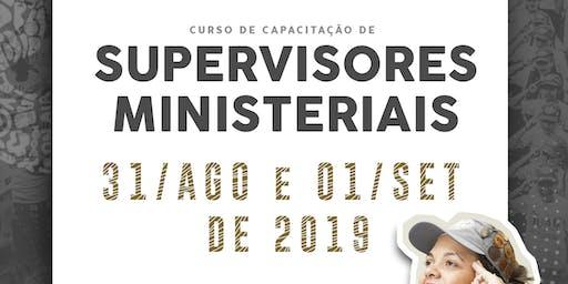 Curso de Capacitação de Supervisores Ministeriais em Novo Hamburgo / RS