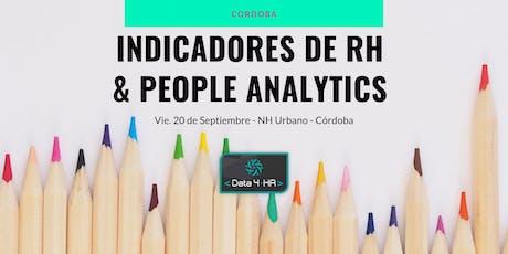Indicadores de RH y People Analytics - Córdoba entradas