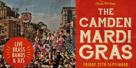 The Camden Mardi Gras: Heavy Beat Brass Band tickets