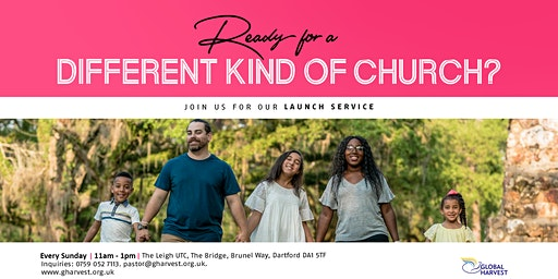 Global Harvest - A Different Kind Of Church