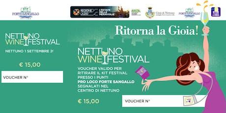 Nettuno Wine Festival biglietti