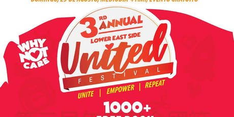 3rd annual WNC LES united festival tickets