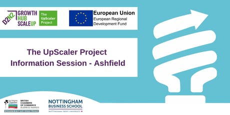 The D2N2 Growth Hub - The UpScaler Project Information Session tickets