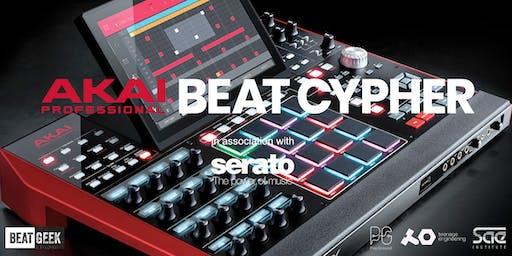 AKAI proudly presents BEAT CYPHER @ BEATGEEK
