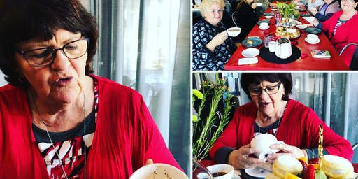 WLS Tea Leaf Reading High Tea With Jennie Mitchell
