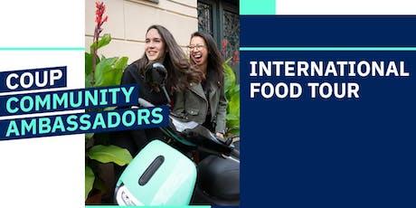 COUP International Food Tour mit Community Ambassadors Cindy&Sarah Tickets