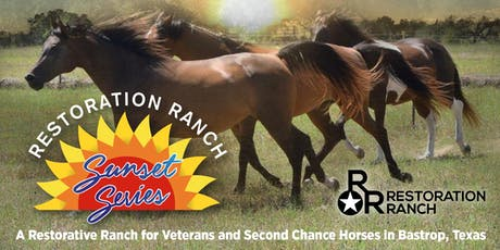 Happy Hour with the Horses at Restoration Ranch | Bastrop, Texas | Oct. 2 tickets