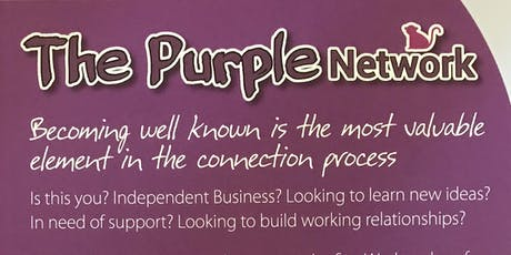The Purple Network monthly meeting - Business network tickets