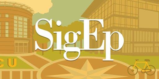 SigEp's 2019 Balanced Man Scholarship Banquet