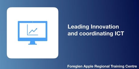 Leading Innovation and coordinating ICT tickets