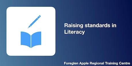 Raising standards in Literacy tickets