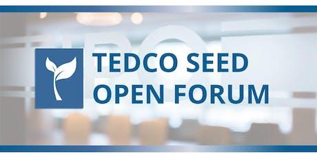 TEDCO Seed Open Forum tickets