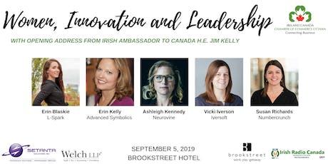 Women, Innovation & Leadership tickets
