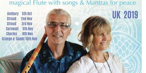 Terry Oldfield and Soraya. Flutes and Mantras for Peace.