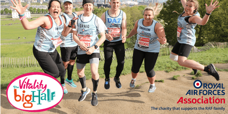 RAF Association: The Vitality Big Half, London tickets