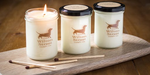 Candle Making Workshop with The Wilton Street Craft Co October