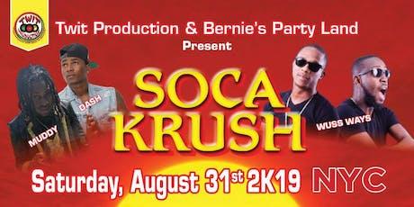 Twit Production Soca Krush nyc  tickets