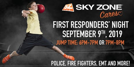 Sky Zone Cares First Responders' Night Plainfield, IN  tickets
